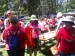 Coolibar handing out UPF shirts, goggles and hats at Camp Discovery