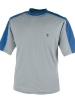 Men's Short Sleeve Crewneck Swim Shirt - Mercury/Aviator