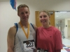 Race winner Bevin and Anna from team Coolibar