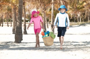 Coolibar Child Sun Protective Swimwear