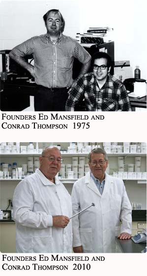 Founders Ed and Conrad Then and Now
