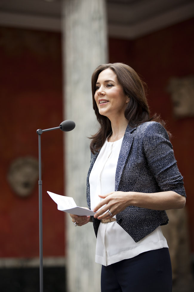 Her Royal Highness Crown Princess Mary of Denmark