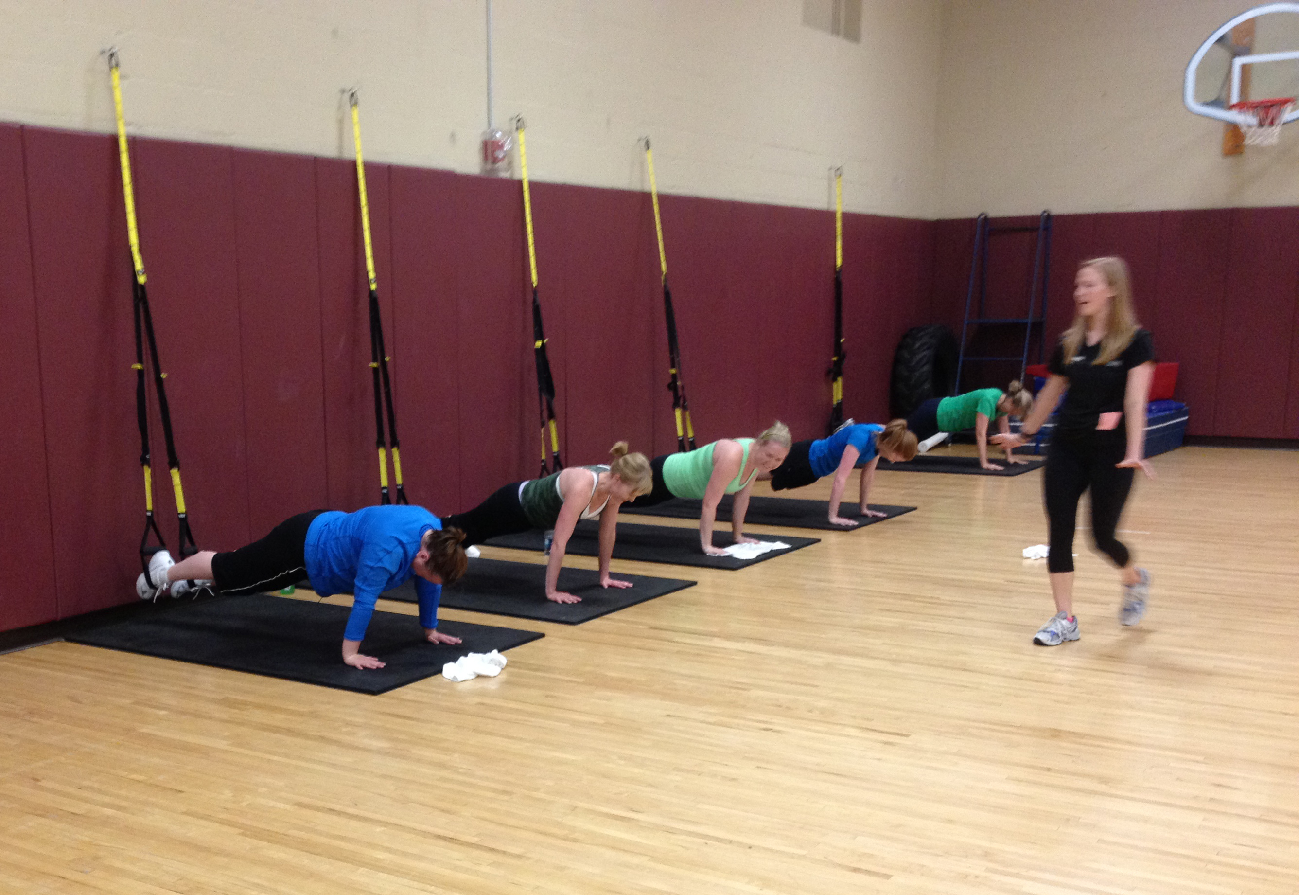 TRX Demo at Lifetime Fittness