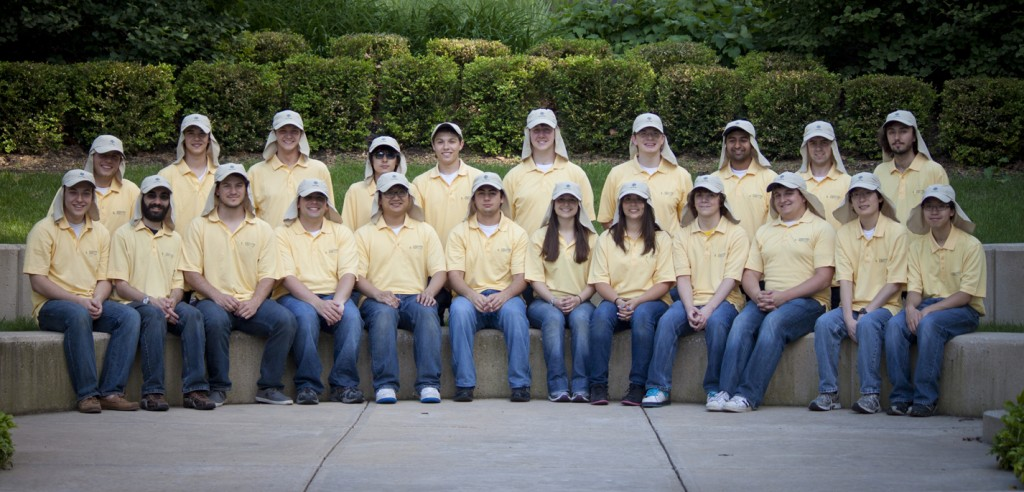 University of Michigan Solar Team in Coolibar Hats