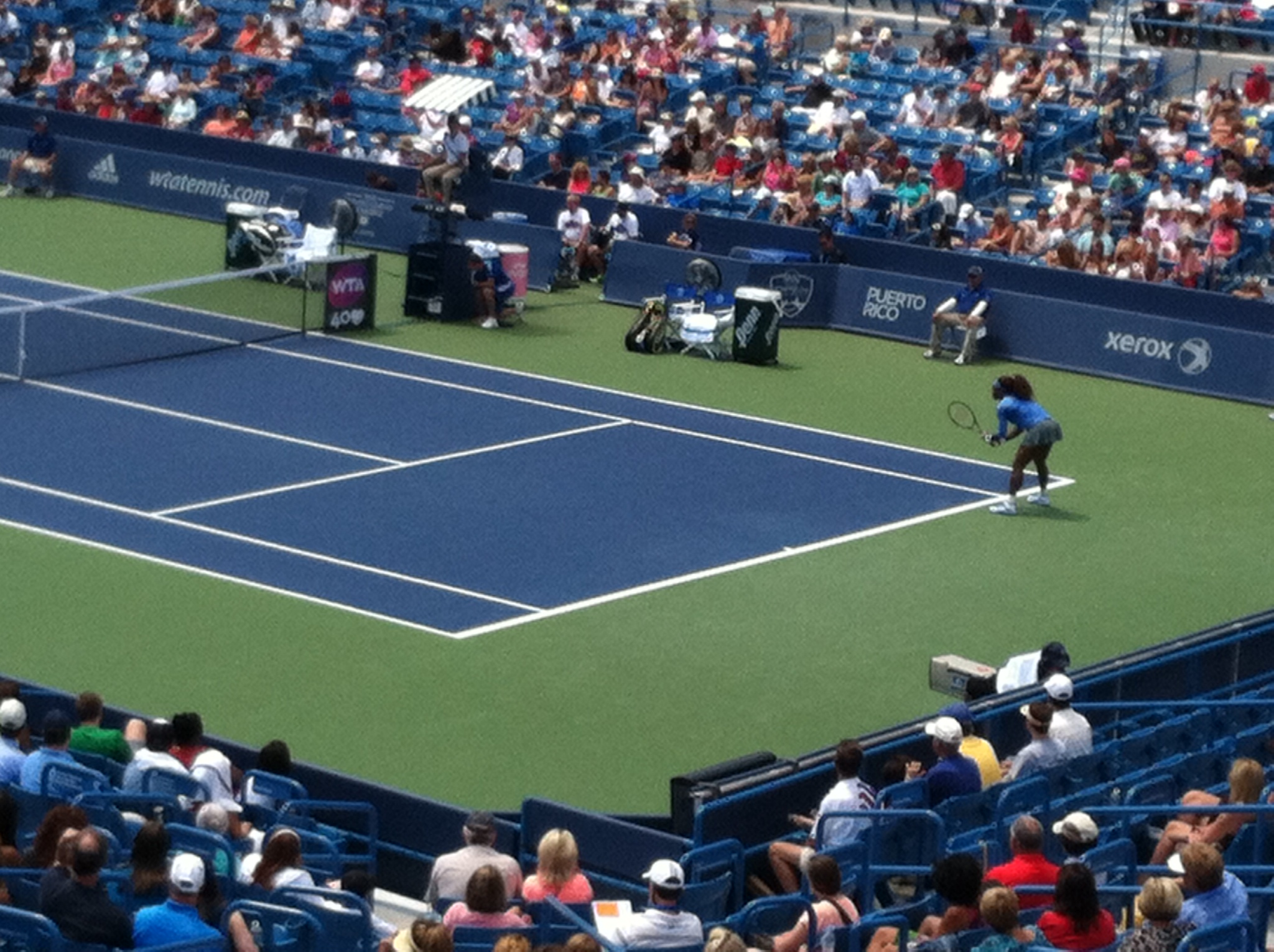 Outdoor sports the coolibar sun protection blog a glimpse of serena williams at the western southern tennis open buycottarizona