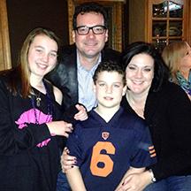Georgina Kerstin and family
