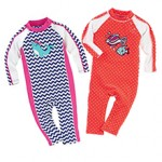 Infant Seaside and Splashy Rompers - Coolibar summer 2014