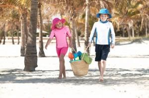 Coolibar Child Sun Protective Swimwear