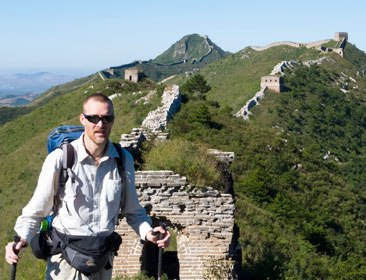 Robert Loken Walking the Great Wall