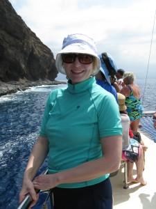 Jen Boating