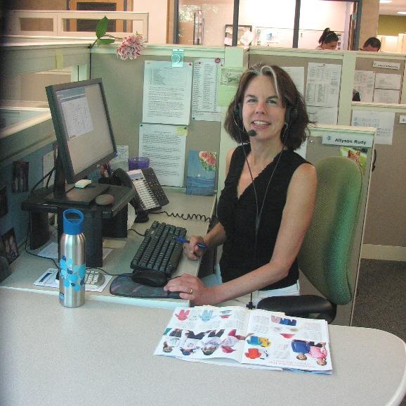 Allyson in customer service