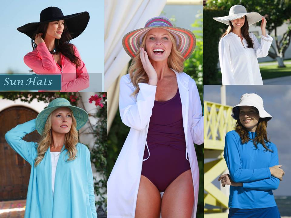 Wide brimmed hats offer excellent sun protection