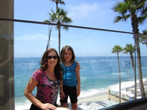 Krista Kennedy and her daughter Em