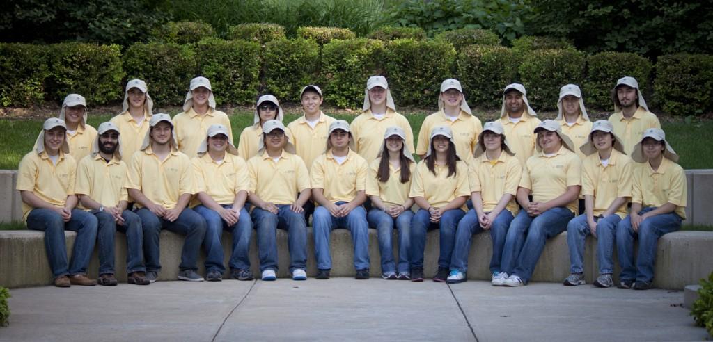 University of Michigan Solar Team in Coolibar Hats