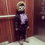 Nia Agbai wearing sunglasses