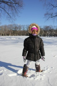 Nia Agbai stays sun safe