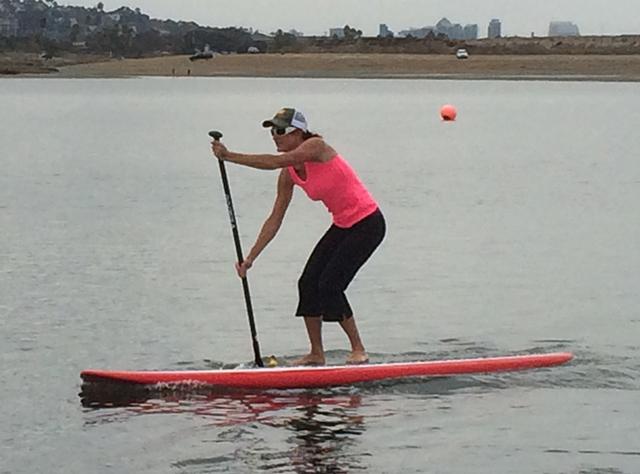 Leslie Jackson, SUP, Coolibar Athlete 2014