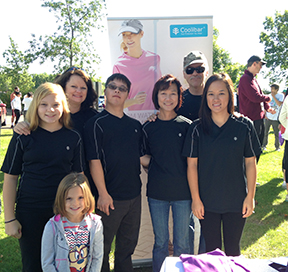 Team Coolibar at Lupus Walk