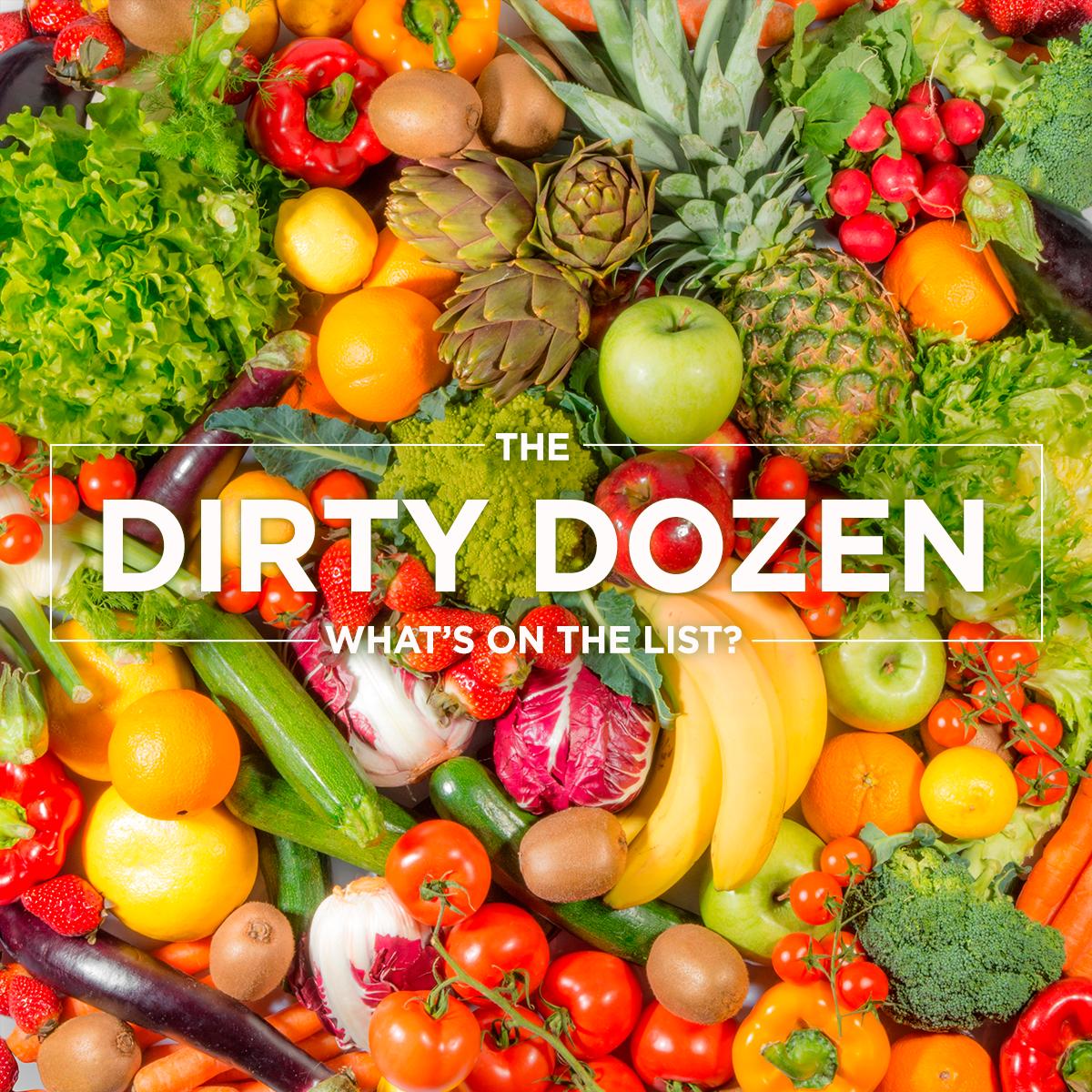 The Top 12 Foods to Buy Organic – Meet the Dirty Dozen